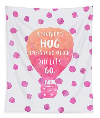 A Mother's Hug Tapestry
