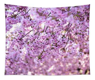 Cherry Blossom Flowers Tapestry