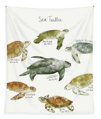 Sea Turtles Tapestry