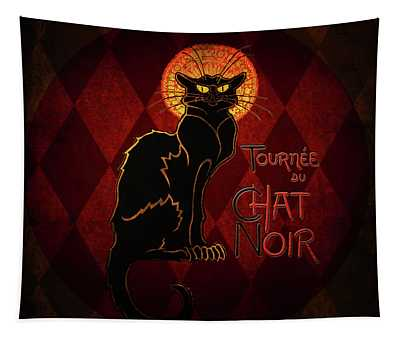 Chat Noir Tapestry