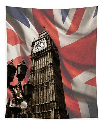 Big Ben London Tapestry