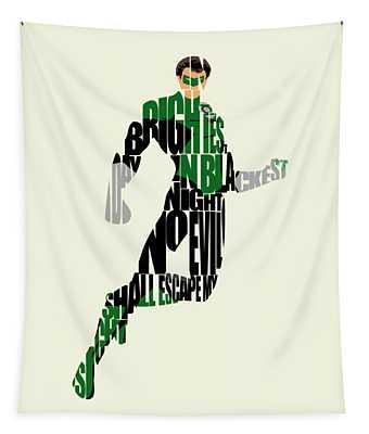 Green Lantern Tapestry