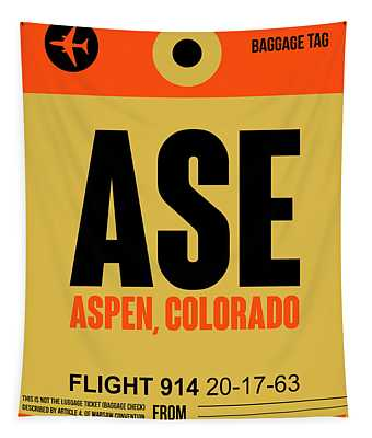 Ase Aspen Luggage Tag I Tapestry