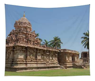 Asia, India, Tamil Nadu, Gangaikonda Cholapuram, Brihadisvara Temple Tapestry