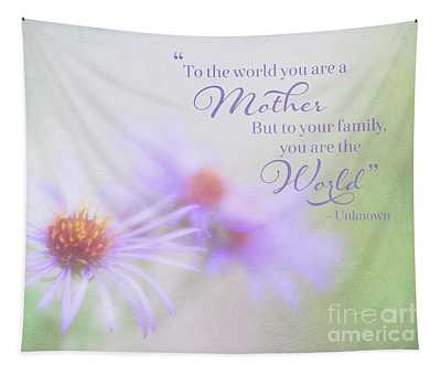 Asters For Mother's Day Tapestry