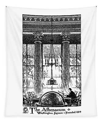 Athenaeum Reading Room Tapestry