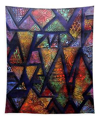 Attractive Mosaic  Tapestry