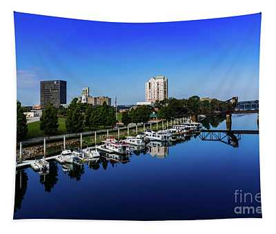 Augusta Ga Savannah River 2 Tapestry