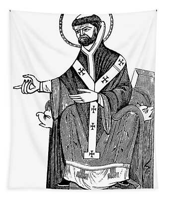 Augustine Of Hippo Tapestry