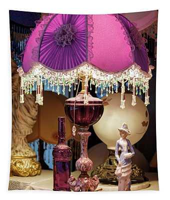 Aunt Rose's Lamp Tapestry