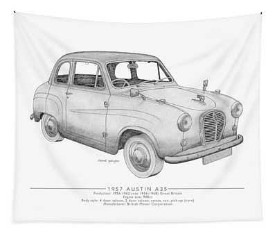 Austin A35 Saloon Tapestry