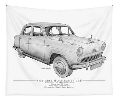 Austin A50 Cambridge Saloon Tapestry