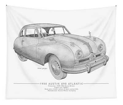 Austin A90 Atlantic Saloon Tapestry
