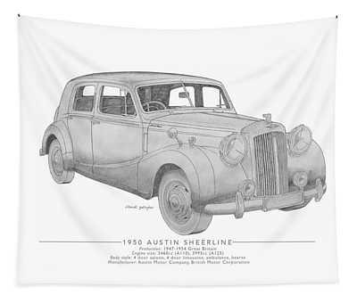 Austin Sheerline Saloon Tapestry