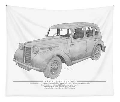 Austin Ten Gs1 Saloon Tapestry