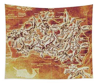 Australian Racecourse Tapestry