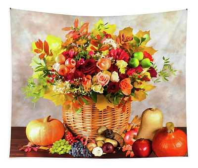 Autum Harvest Tapestry