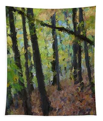 Autumn Afternoon Tapestry by David Boudreau