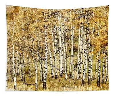 Autumn Aspen Tapestry