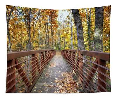 Autumn At Frog Bay  Tapestry
