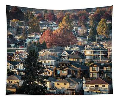 Autumn At Home Tapestry