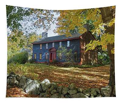 Autumn At Short House Tapestry