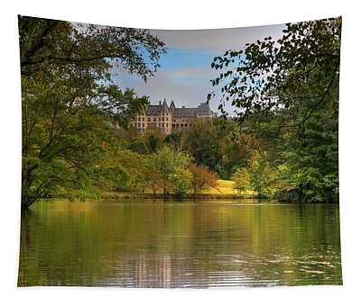 Autumn Begins From The Biltmore Lagoon Tapestry