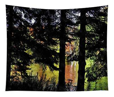 Autumn Colors At The Spa  Tapestry