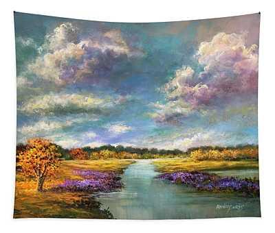 Autumn Illumination Tapestry
