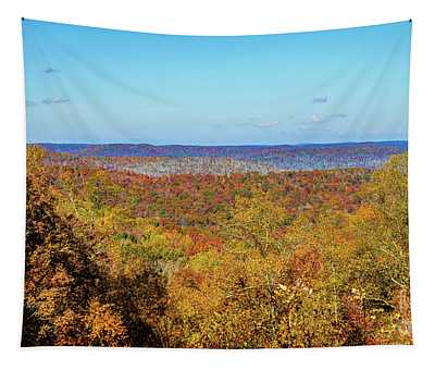 Autumn In Boone Tapestry