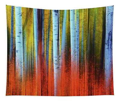 Tapestry featuring the photograph Autumn In Color by John De Bord