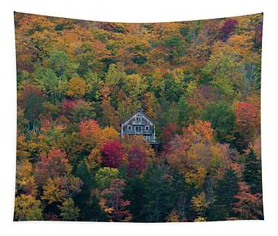 Autumn In Maine Tapestry
