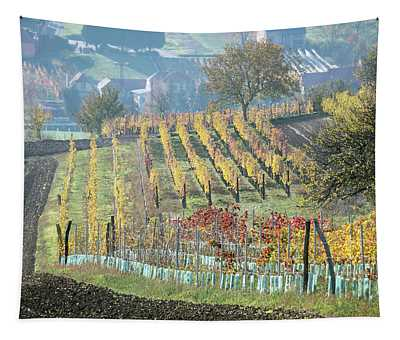 Autumn In Moravia 7 Tapestry