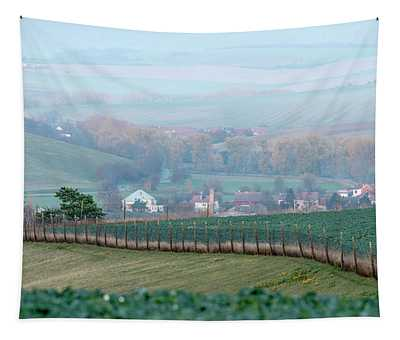 Autumn South In Moravia 6 Tapestry