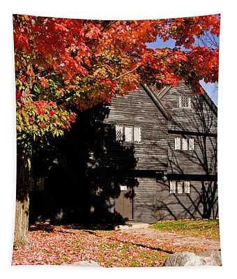 Autumn In Salem Tapestry