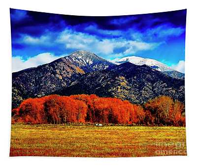 Autumn In Taos New Mexico Tapestry