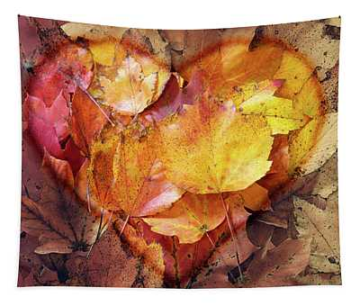 Autumn Love Tapestry