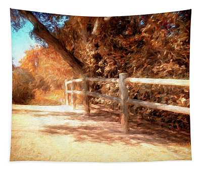 Autumn Oil Painting Tapestry