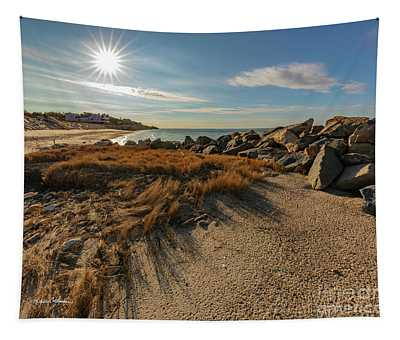 Autumn Rays Over Cape Cod Tapestry