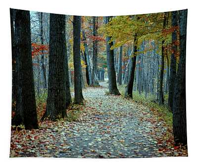 Autumn Way Tapestry