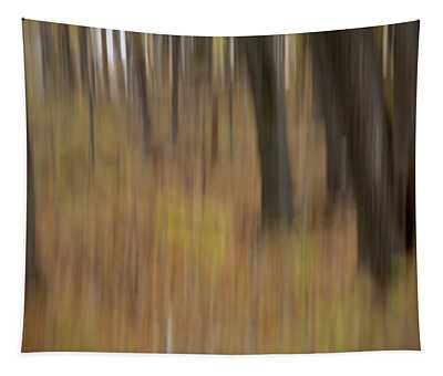 Autumnal Trunks Tapestry