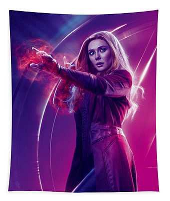 Avengers Scarlet Witch  Marvel Cinematic Universe Tapestry