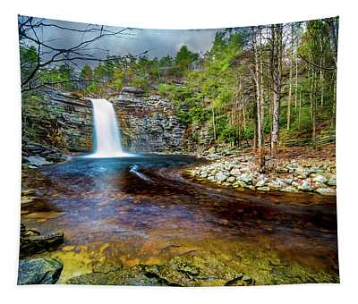 Awosting Falls  Tapestry