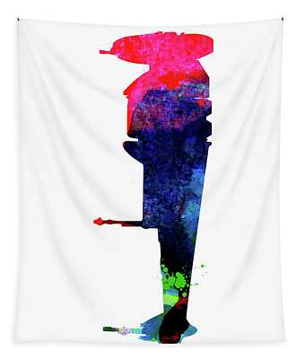B-wing Watercolor Tapestry
