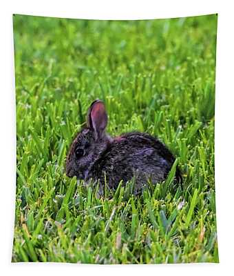 Baby Easter Bunny Tapestry