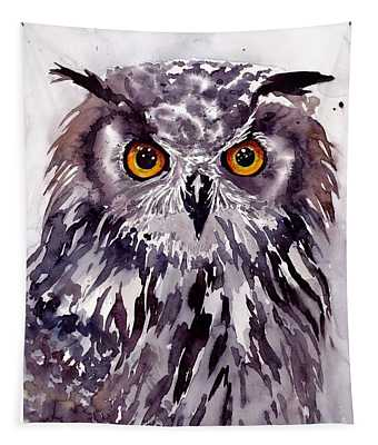 Baby Owl Tapestry