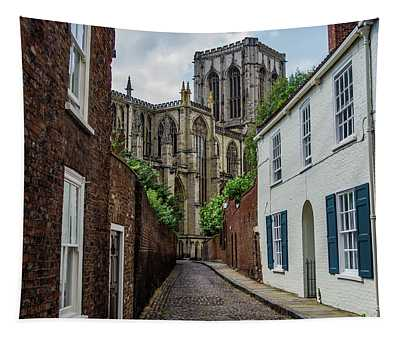 Back Alley To York Minster Tapestry