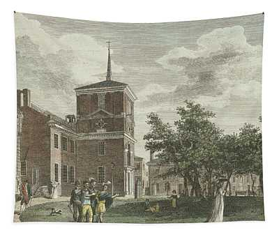 Back Of State House Tapestry