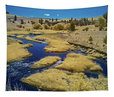 Back River In The Palouse Tapestry
