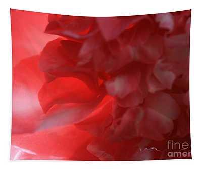 Backlit Camellia Tapestry